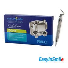 Dental Self Ligating Mim Orthodontic Bracket Roth 345 Hooks 022 Easyinsmile