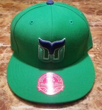 New - Hartford Whalers Mitchell & Ness Vintage NHL Wool Fitted hat cap 7 1/2