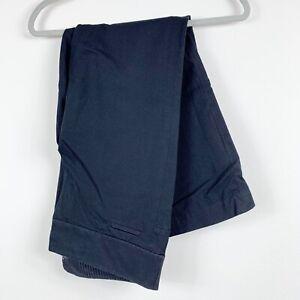 Ann Taylor Loft Marisa straight black slacks size 12 pant