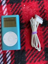 Apple iPod mini- 2Nd Gen - Blue - 128GB - SSD Got Q ?Read Description
