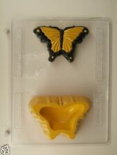 SWALLOWTAIL BUTTERFLY POUR BOX CLEAR PLASTIC CHOCOLATE CANDY MOLD AO183