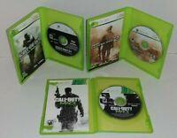 Lot Of 3 Games Call of Duty: Modern Warfare 1 / 2 / 3 Xbox 360 CIB MW MW2 MW3
