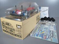 Rare Vintage Tamiya 1/10 R/C VOLVO 850 BTCC New Body +Built Chassis with upgrade