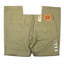 Men's Levi's 505 Regular Fit Twill Jeans (005051167) British Khaki
