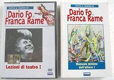 DARIO FO e FRANCA RAME Lezioni di teatro I (1984) DVD + LIBRO