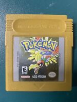 Pokemon: Gold Version (Game Boy Color, 2000) Authentic & Tested CLEAN + SAVES