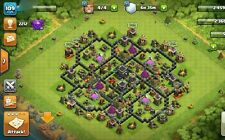 COC TH9 Nearly Maxed + Clash Royale pro lvl8