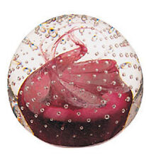 Congratulations - Ruby - Paperweight by Caithness - U8236