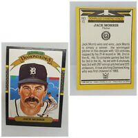 Vintage 87 Donruss Diamond Kings Jack Morris #13 Detroit Tigers Baseball Card