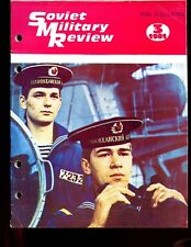 SOVIET MILITARY REVIEW -   MARCH 1981 ( full English text) well illustrated.