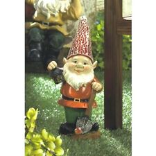 Gnome Statue w light Solar Lantern Figurine Outdoor Lawn Yard Garden Decor