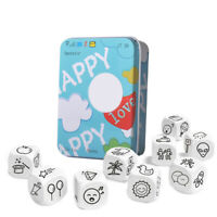 Story Dice Board Game Funny Boxed Story Dice Storytelling Game Story Dice Game