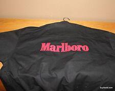 Vintage MARLBORO X-Large JACKET Coat REVERSIBLE Black Red