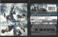 The Divergent Series: Insurgent (Includes 4K Ultra HD + Blu-ray, 2015)