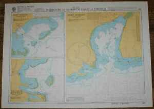 Nautical Chart No. 257 West Indies - Harbours on the South Coast of Jamaica
