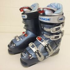 Lange Concept 85 High-End Women's Downhill Ski Boots MDP 23.5 Warm Inside Liners