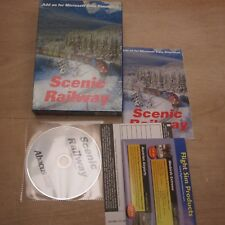 "Scenic Railway Add on for Microsoft Train Simulator Sim PC ""Big"" Box Complete"