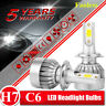C6 H7 LED Conversion Headlight Bulb 1800W 260000LM High Power 6000K Super Bright
