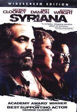 Syriana (New DVD 2006 WS) Clooney, Damon, Wright ** Factory Sealed!