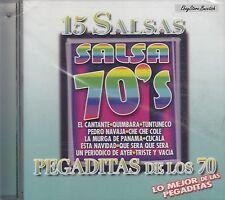 3 Son Salsa La Organizacion 15 Salsas Pegaditas De Los 70 CD Nuevo Sealed