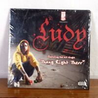 Ludy Thang Right Therr EP Album CD Private Press Gangsta Rap St Louis Hip Hop