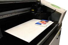 Roland LEF-20. Printing. UV Ink Jet Printer. Universal Pegboard Master Jig