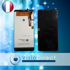 """Ecran complet pour Wiko Tommy 2 Plus 5.5"""" noir vitre tactile + LCD"""