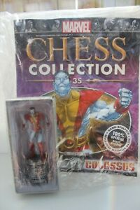 Eaglemoss Marvel Chess Collection Series 2 Number 35 Colossus