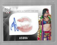 2017 Topps WWE Then Now Forever ASUKA Auto Authentic Kiss Card 05/25 Autograph