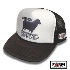I'm A Black Sheep Washed White As Snow Vintage Style Trucker Hat