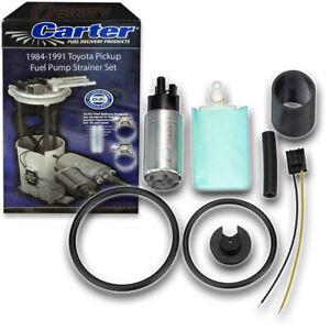 Carter Fuel Pump & Strainer Set for 1984-1991 Toyota Pickup 2.4L 3.0L L4 V6 cz