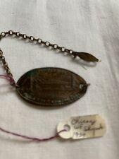 New Listing1934 Chicago World's Fair Elongated Coin Bracelet