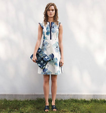 Tory Burch Edith Floral Dress   M Sleeveless 8 NWT