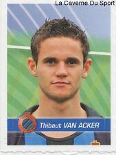 068 THIBAUT VAN ACKER BELGIQUE CLUB BRUGGE.KV STICKER FOOTBALL 2012 PANINI