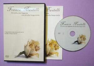 DVD Musicale FRANCO BASTELLI Un Mito Una Leggenda Una Piccola Lunga Storia (T2)