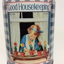 Good Housekeeping Tin April 1928 Magazine Cover Collectible Storage Decorative