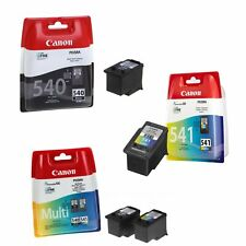 Genuine Canon PG-540 & CL-541 Ink Cartridges For Pixma MG2150 MG3150 MG3550 Lot