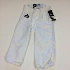 Adidas Team Pants Xxs White Mens Youth Football Athletic Nwt