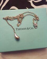 Tiffany and Co Elsa Peretti Teardrop Lariat Necklace