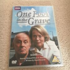 ONE FOOT IN THE GRAVE DVD, SERIES 1, 2 DISCS. REGION 2