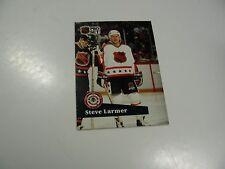 Steve Larmer 1991 NHL Pro Set (French) NHL All-Star card #279