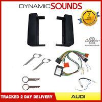 Full BOSE Car CD Stereo Fitting Kit Fascia, Wiring Harness For Audi TT 1999-2006