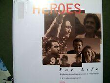HEROES FOR LIFE: GRADE K - 6 EDUCATION PROGRAM (TEACHER/PARENT BINDER KIT)