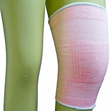 Pink Elasticated Knee Brace Guard Cap Pad Protector Support Sleeve Compression