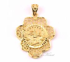 Tugra Kette Anhänger Türkische Gold Münze 24 Karat vergoldet Altin Kaplama Kolye
