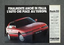 G778 - Advertising Pubblicità - 1990 - MAZDA 323 , L'AUTO CHE PIACE ALL'EUROPA