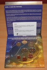Portugal 2002 - 1er euro officiel de collection de pièces set (UB) édition limitée