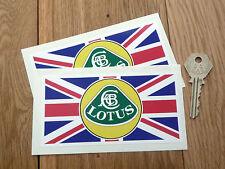 LOTUS Union Jack Style Autocollant. ELAN ELISE ESPRIT Elite