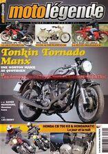 MOTO LEGENDE 232 HONDA CB 750 FOUR Automatic KAWASAKI GPZ 750 TURBO NORTON MANX