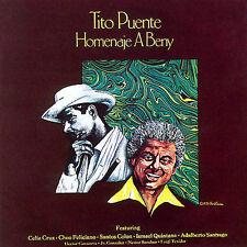 FANIA Salsa RARE CD REMASTERED Tito Puente HOMENAJE A BENY que bueno baila usted